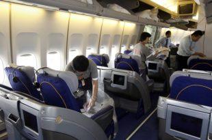 avion iznutra